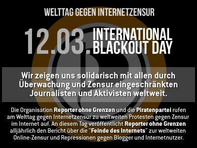 International Blackout Day