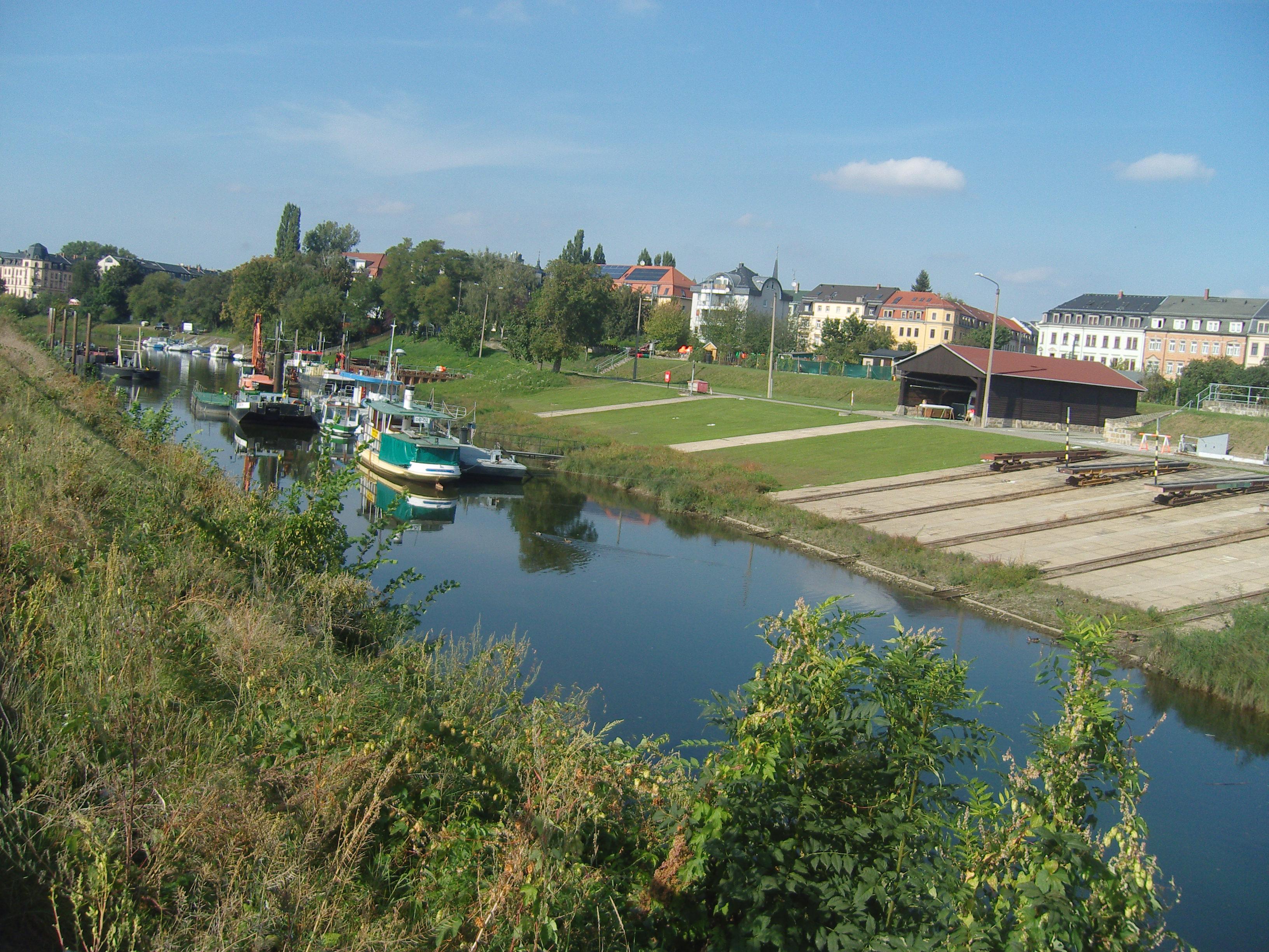 Pieschener Hafen, CC BY-SA Z thomas