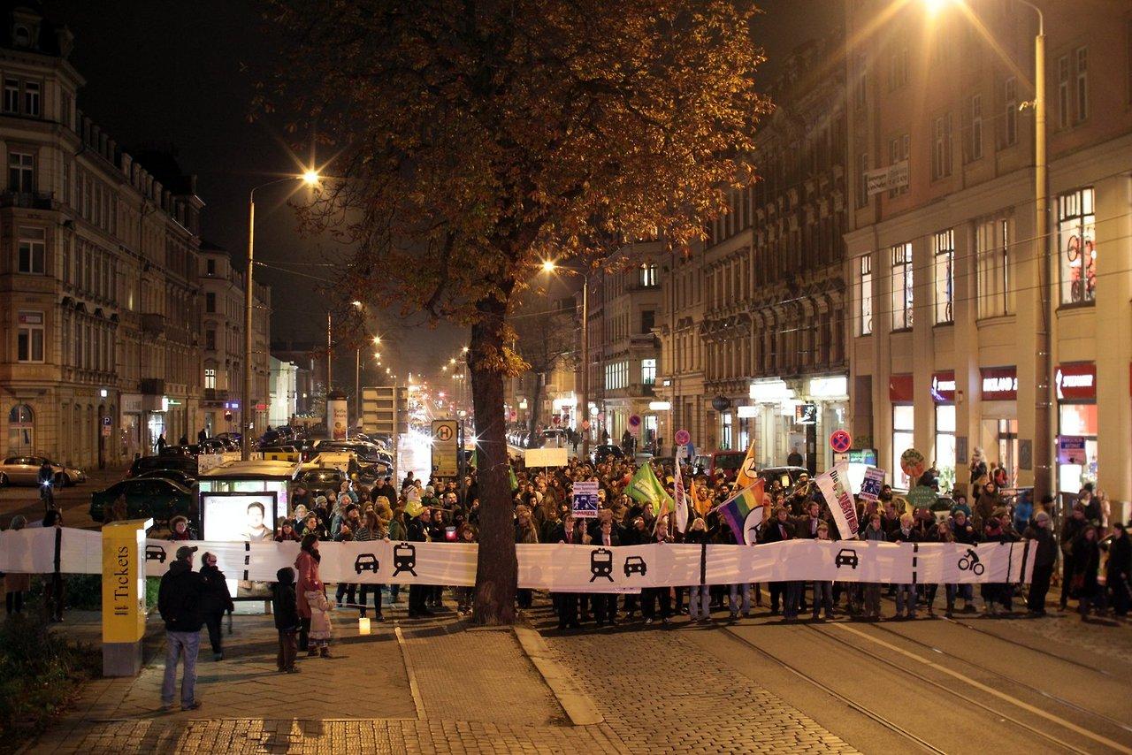 Köni-Demo am 15.11.2013