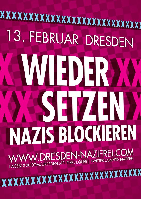Wieder setzen - Nazis blockieren