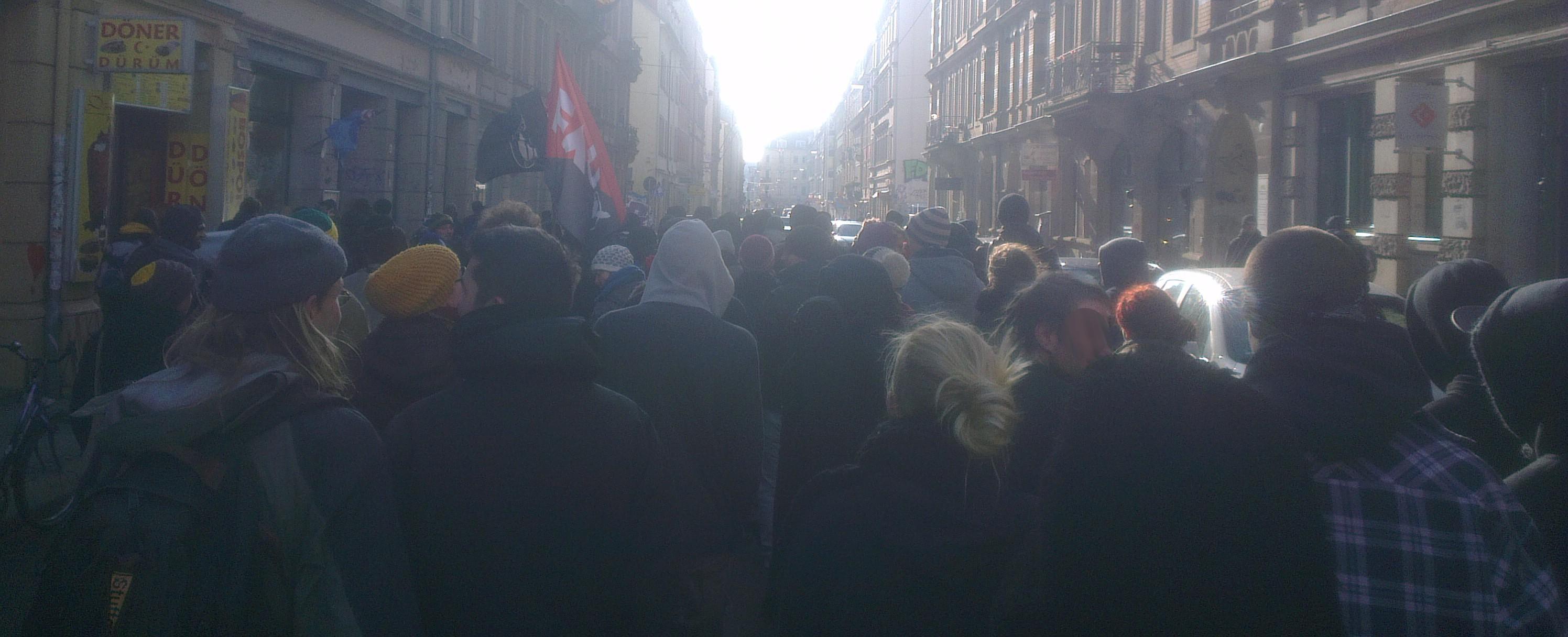 Demonstration Freiraum Elbtal BLEIBT!