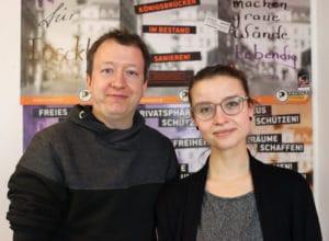Anne Herpertz und Jan Kossick